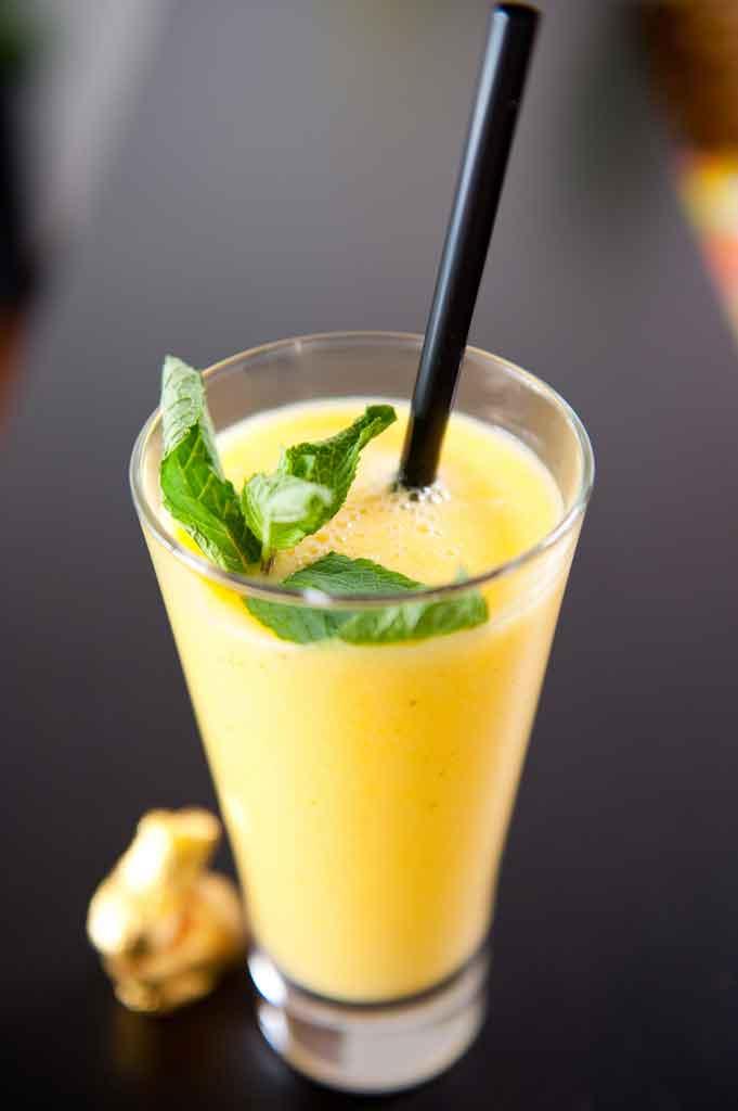 Banan-vodka-smoothie